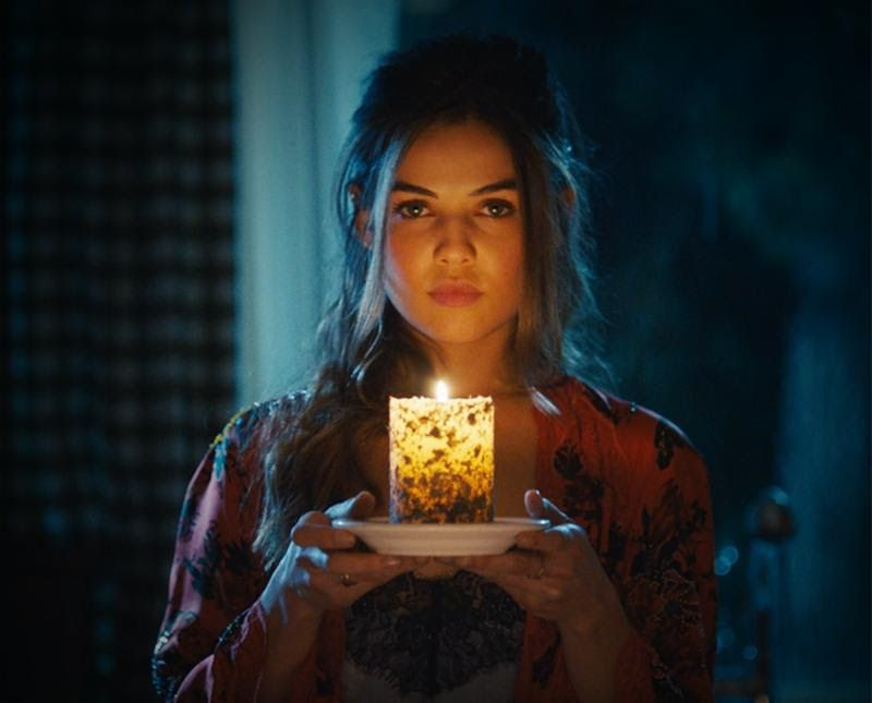 "Danielle Campbell as ""Juliet"" in Ghost Light"