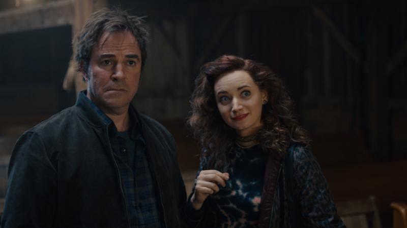 "(LtoR) Peter Bart as ""Henry"" and Caroline Portu as ""Annabel"" in Ghost Light"