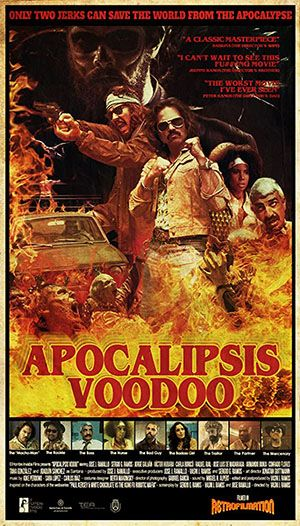 Voodoo Apocalypse Poster Large