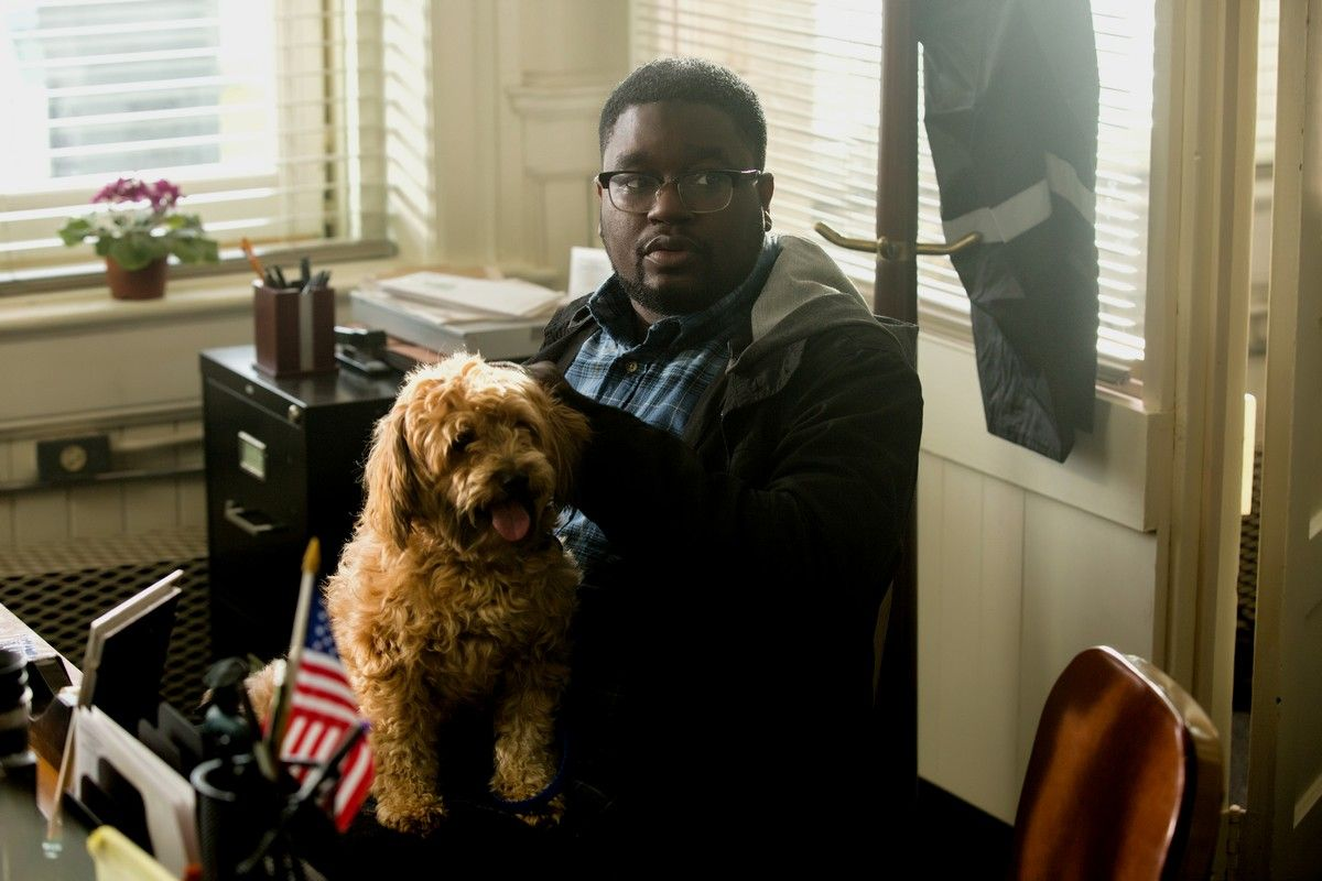 MILTON LIL REL HOWERY as Rod Williams. Credit: Justin Lubin