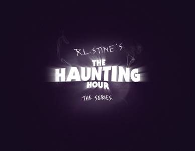 Logo for R.L. Stine's The Haunting Hour: The Series
