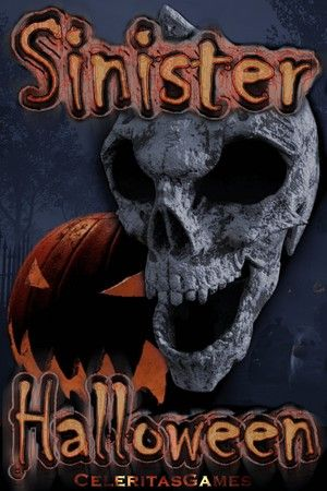 Sinister Halloween Poster Large