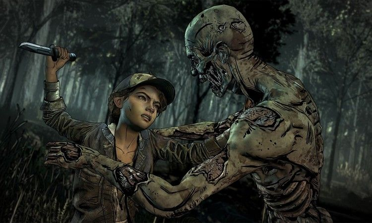 Telltale The Walking Dead Season 4 Slider