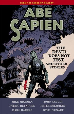 Abe Sapien Volume Two The Devil Does Not Jest 00