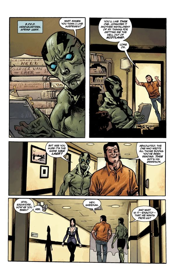 Abe Sapien Volume Two The Devil Does Not Jest 02