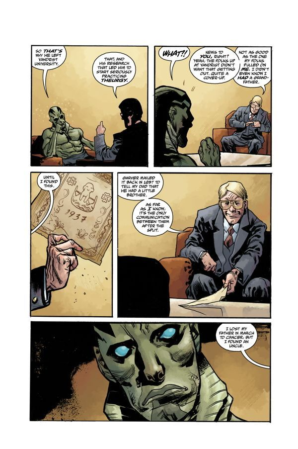 Abe Sapien Volume Two The Devil Does Not Jest 04