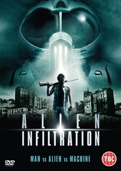 Alien Infiltration Dvd Cover