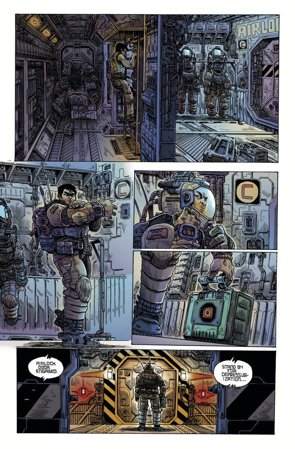 Aliens Dead Orbit 1 04