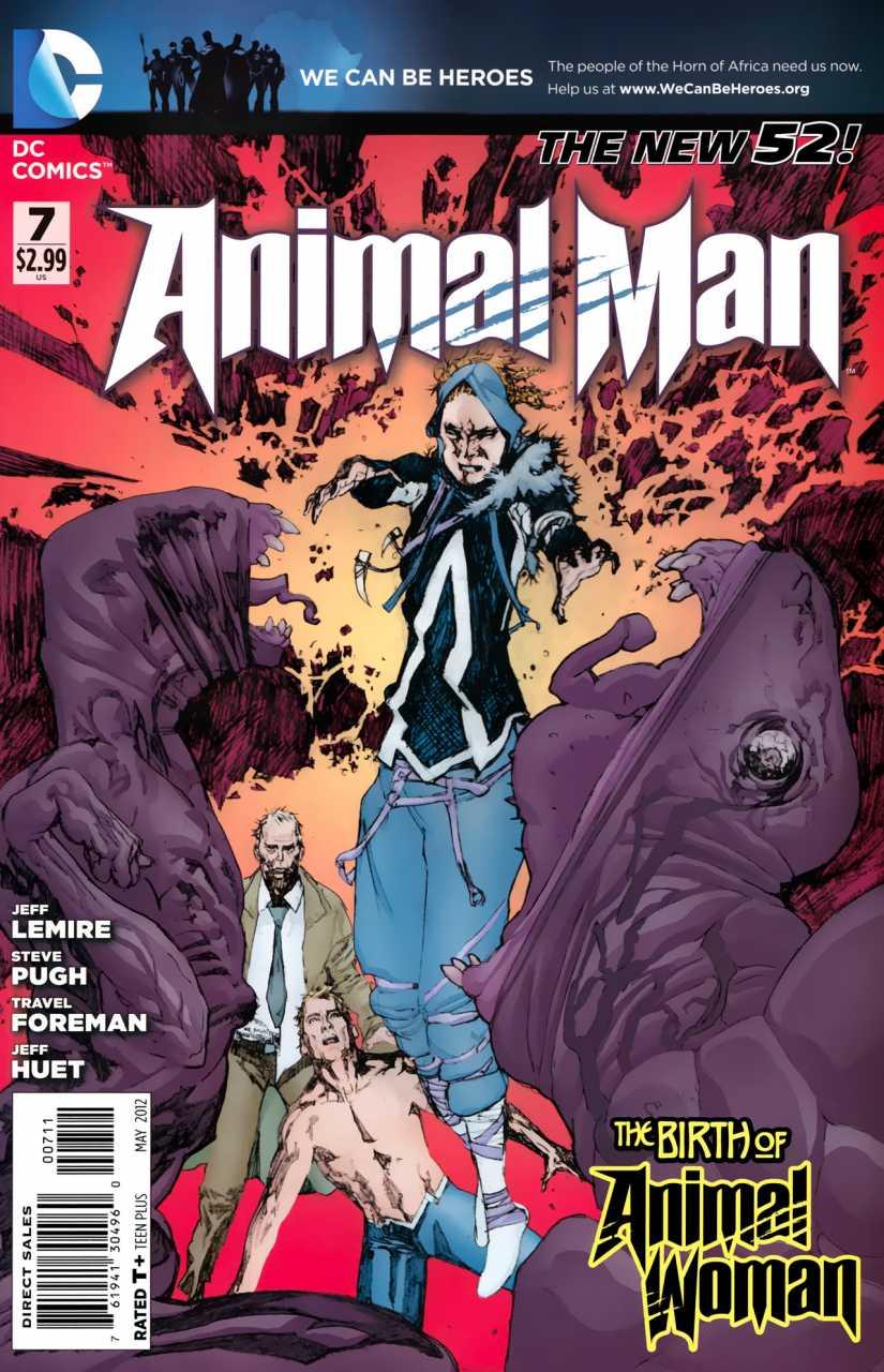 Animal Man Volume 2 01