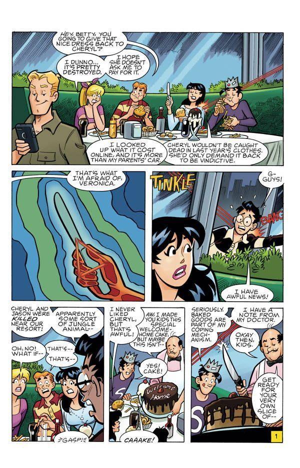 Archie Vs Predator 2 01