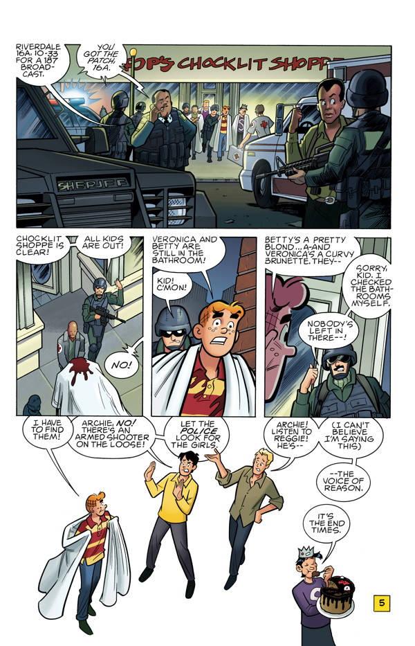 Archie Vs Predator 2 05