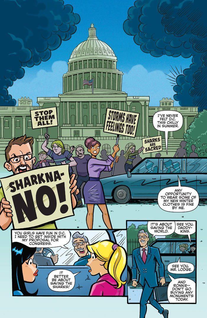 Archie Vs Sharknado 01