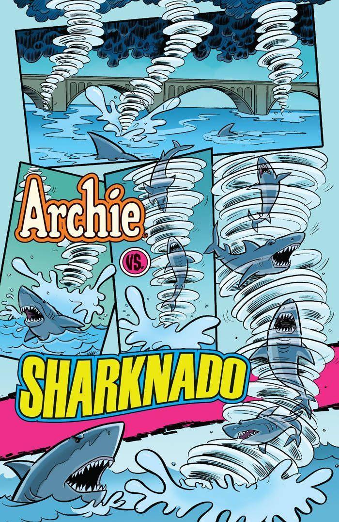 Archie Vs Sharknado 04