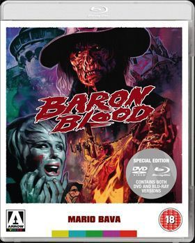 Baron Blood Dvd Cover