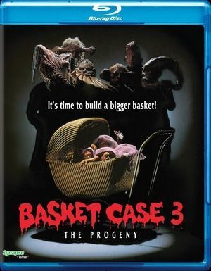 Basket Case 3 Blu Ray Poster