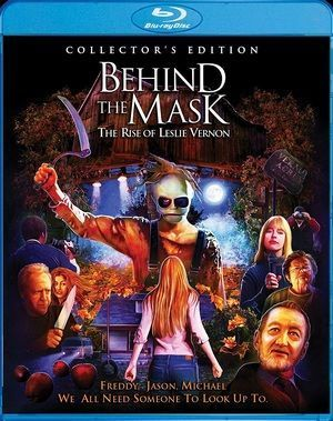 Behind The Mask Blu Ray Poster