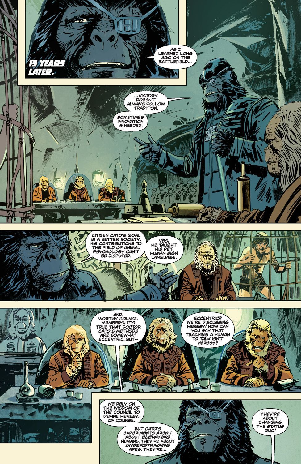 Betrayal Of The Planet Of The Apes 10
