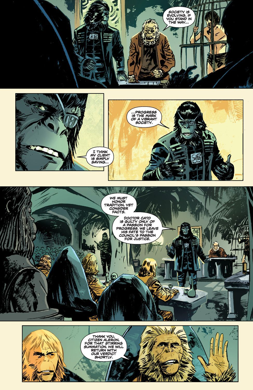 Betrayal Of The Planet Of The Apes 11