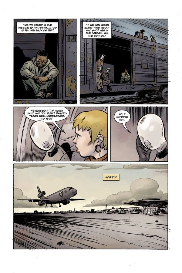 Bprd Hell On Earth Volume 3 Russia 03
