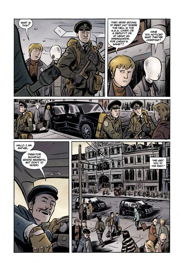 Bprd Hell On Earth Volume 3 Russia 04