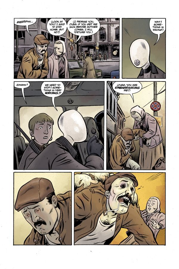 Bprd Hell On Earth Volume 3 Russia 05