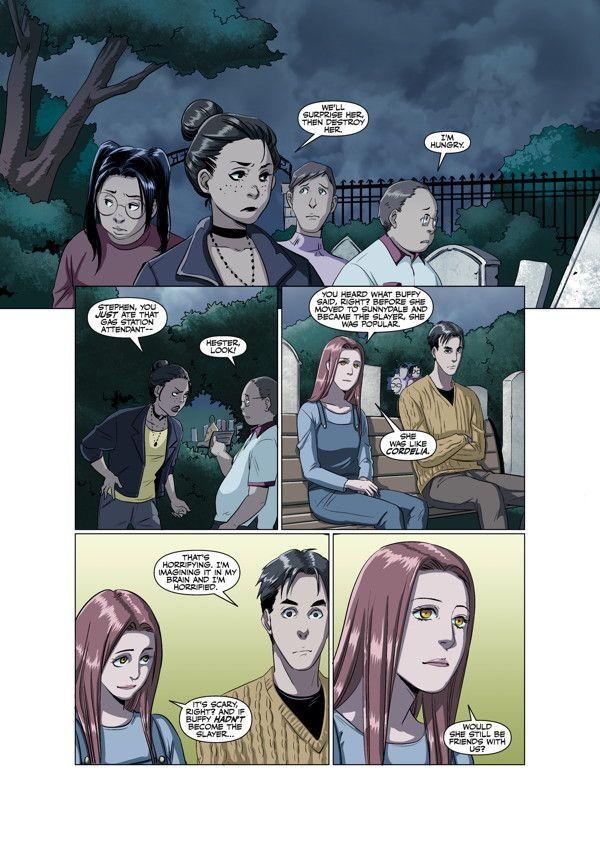 Buffy High School Freaks Geeks 01