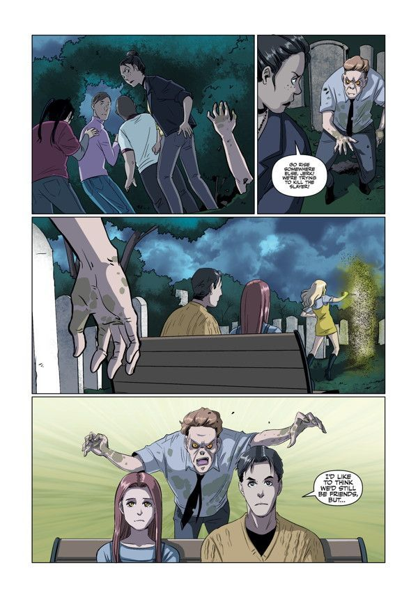 Buffy High School Freaks Geeks 02