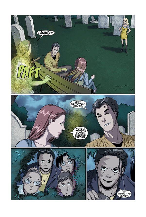 Buffy High School Freaks Geeks 04