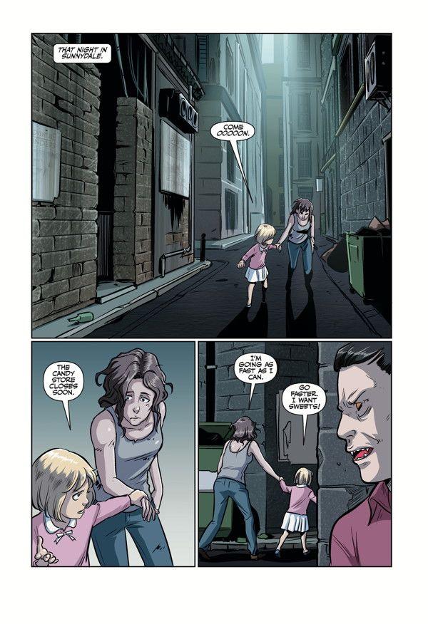 Buffy High School Parental Parasite 01
