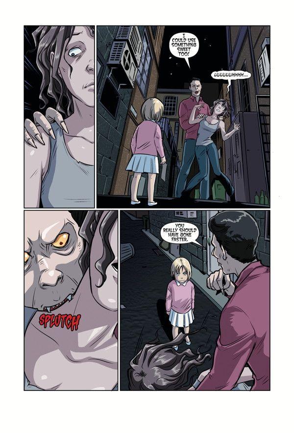 Buffy High School Parental Parasite 02