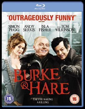 Burke And Hare Blu Ray Cover