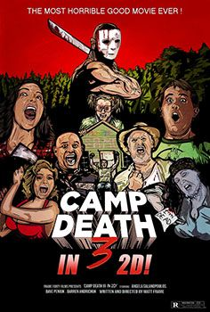 camp death 3 in 2d poster