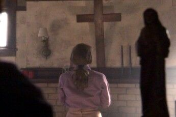 That cross needs to be bigger.  Sinners.