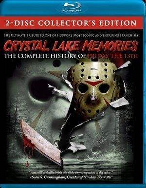 Crystal Lake Memories The Complete History Of Friday The 13th Blu Poster