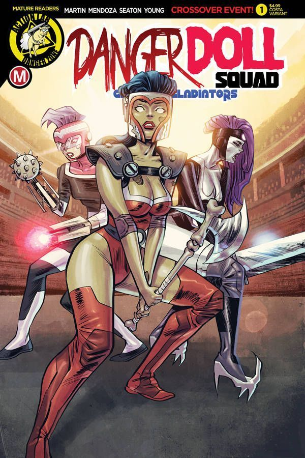 Danger Doll Squad Galactic Gladiators 1 05