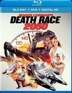 Death Race 2050 Blu Ray Poster