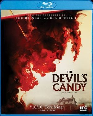 The Devils Candy Blu Ray Poster