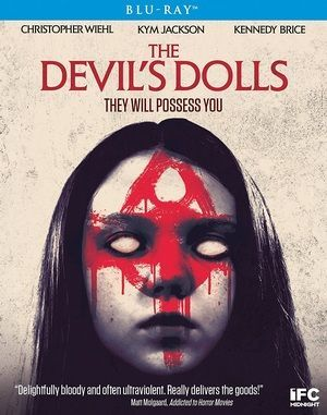 The Devils Dolls Blu Ray Poster
