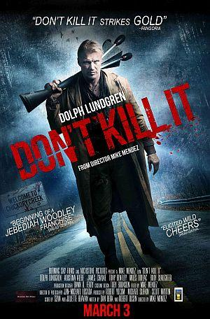 Dont Kill It Poster