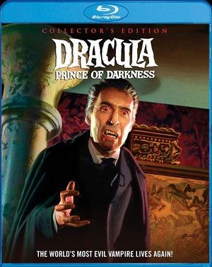 Dracula Prince Of Darkness Collectors Edition Blu Ray Poster