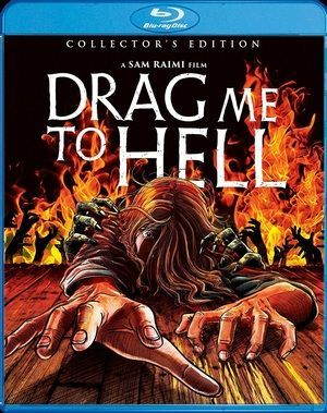 Drag Me To Hell Blu Ray Poster