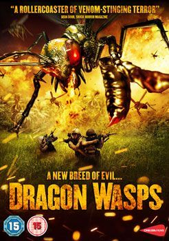 Dragon Wasps Dvd Cover