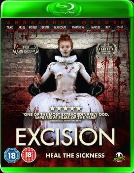 Excision Blu Ray Cover