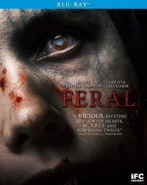Feral Blu Ray Poster