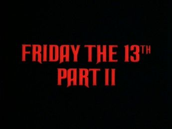 Friday The 13th Part 2 01