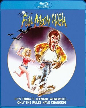 Full Moon High Blu Ray Poster