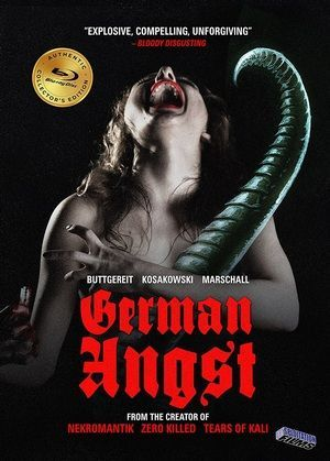 German Angst Blu Ray Poster