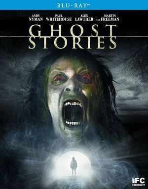 Ghost Stories Blu Ray Poster