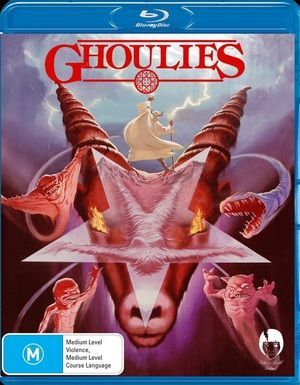 Ghoulies Blu Ray Poster