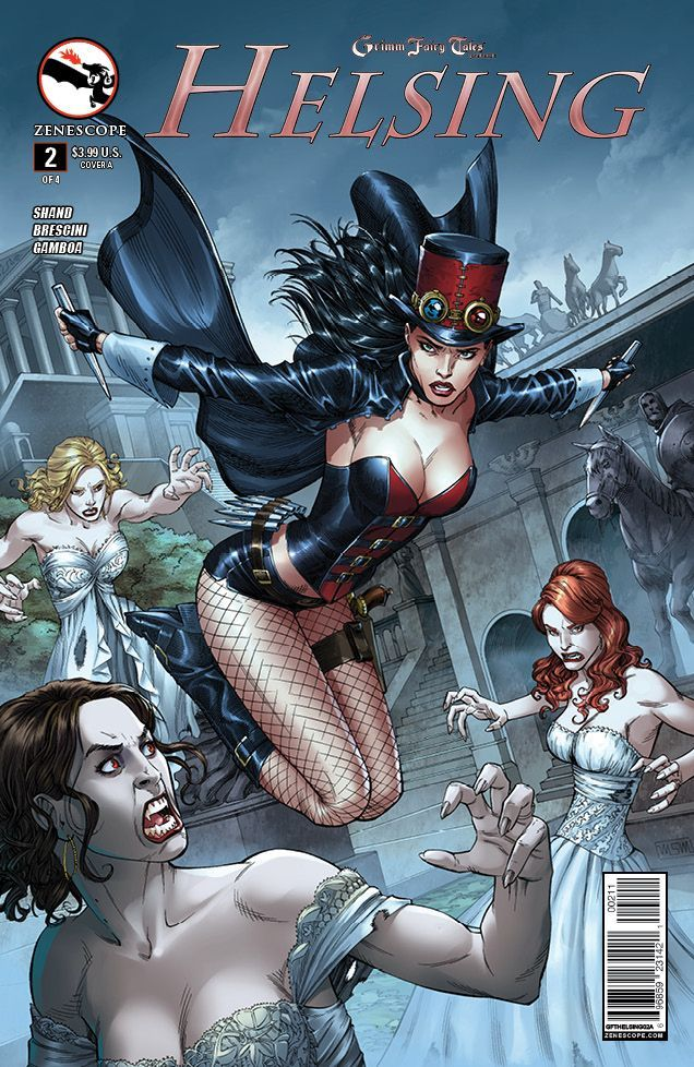 Grimm Fairy Tales Presents Helsing 2 00